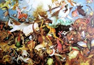 16 La chute des anges rebelles - BRUEGEL